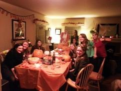 2013 Alumnae Pumpkin Carving
