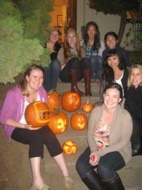3rd Annual Pumpkin Carving 2011