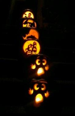 2nd Annual Pumpkin Carving 2010